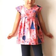 Made by Rae - Geranium Dress 0 - 5years